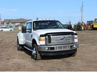 2008 Ford Lariat F350 Super Duty 4X4 Crew Cab Dually Pickup
