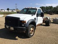2009 Ford 550 Reg Cab 4X4 Dually Truck (non runner)