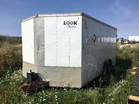 2013 LGS  20 Ft T/A Enclosed V-Nose Trailer