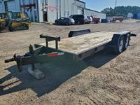1985 Angle  T/A Utility Trailer