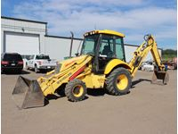 2003 New Holland LB75B 4WD Extend-A-Hoe Backhoe