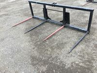 Custom Build Skid Steer Double Bale Spear