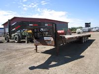 2012 Oasis 30 Ft Goose Neck T/A Deck Trailer