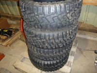 (4) Grizzly 33 X 12.50R18LT Tires (new)