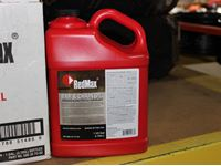 (4) Red Max Bar & Chain Oil