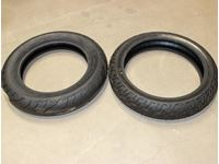 (2) Motorcycle Tires