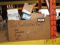 (1) Box of Fuel Related Parts