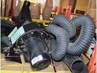 Exhaust Removal Hose and Blower System