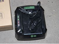 (3) Greenworks Commercial Rapid Charger