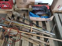 Misc Hand Tools, Ratchet Straps, Used Cowboy Boots
