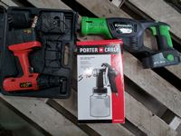 Cordless Drill, Electric Nip Saw, Paint Sprayer, Honeywell Heater