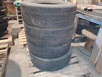 (4) Used LT275/70R18 Tires