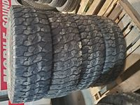 (4) Used 275/70R18 Tires