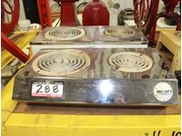 (2) Two Burner Hot Plates