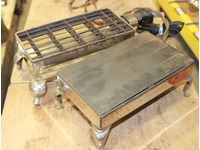 Westinghouse Hot Plate & Canadian Beatty Rectangular Toaster