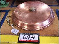 Copper Hotwater Foot Warmer