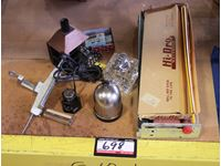 Tobacco Rolling Equipment w/ Cigarette Lighters