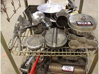 Qty of Miscellaneous Kitchen & Baking Utensils