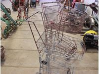 (2) Shopping Carts & Miscellaneous
