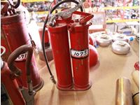 Double Tube Fire Extinguisher