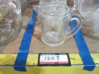 (3) Glass Pitchers