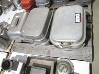 (5) Roaster Pans With Lids