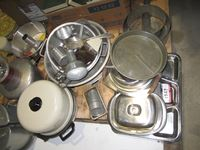 Cooking Pots Pans, Food Chopper & Utensils