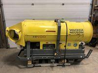 (2) Wacker HI400 Diesel Fired Construction Heaters (parts)