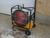 Val 6 Diesel Fired Infrared Heater