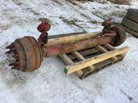 97 Inch Track 25,000 Lb Steering Axle
