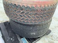 (2) 425/65R22.5 Tires on Aluminum Rims
