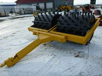 Double Drum SPC 12 Pull Type Sheep Foot Packer