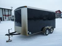 T/A 14 FT Enclosed Trailer
