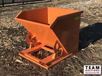 Skid Steer Dump Hopper  (Unused )