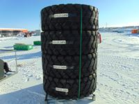 (4) Industrial Tires (Unused )