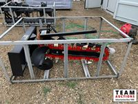 4 Ft Skid Steer Hydraulic Trencher  (Unused )