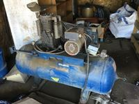 Horizontal Shop Air Compressor