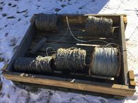 Pallet of Smooth Fencing Wire