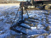 Shop Built Loader Mount 10 Bale Stook Fork