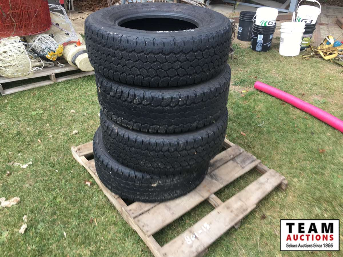(4) LT265/70R17 Tires (used)