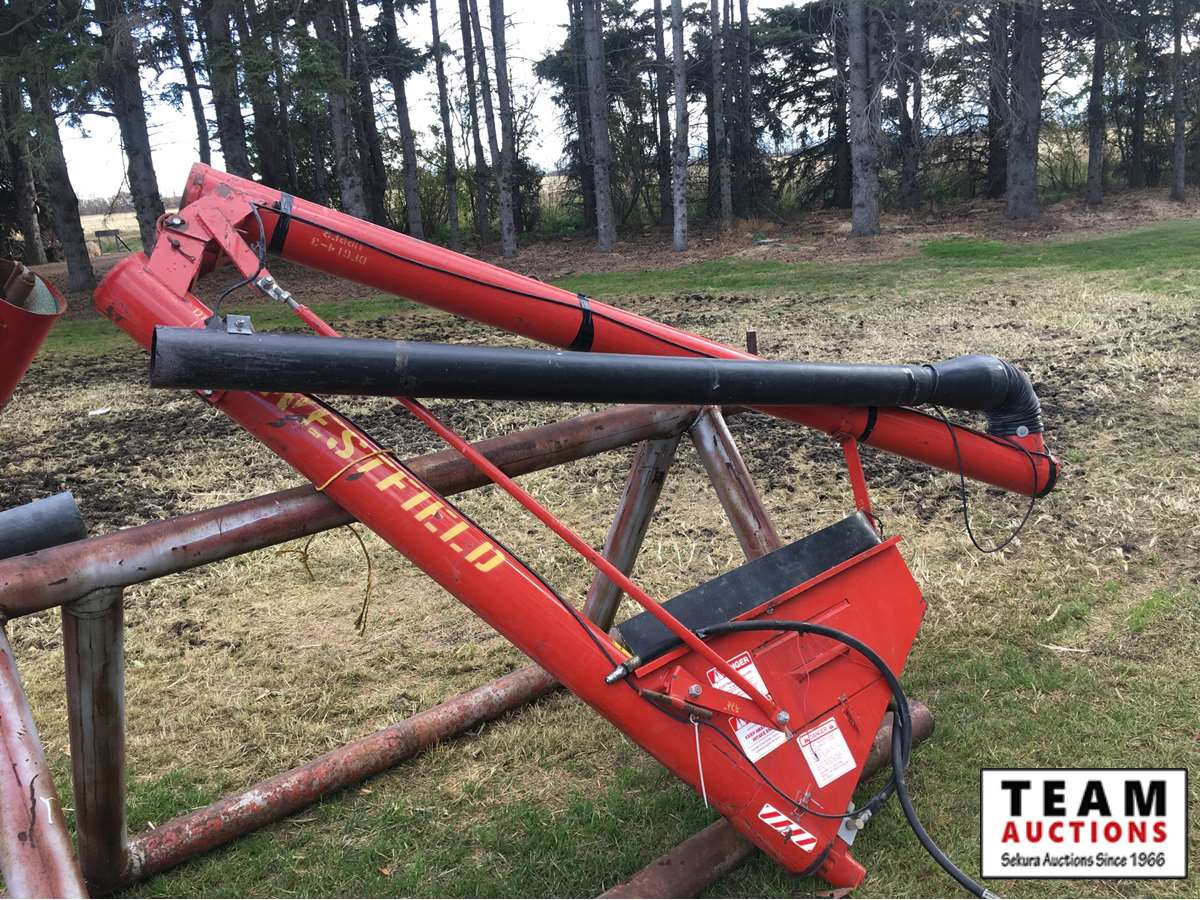 Westfield Hydraulic Endgate Drill Fill Auger