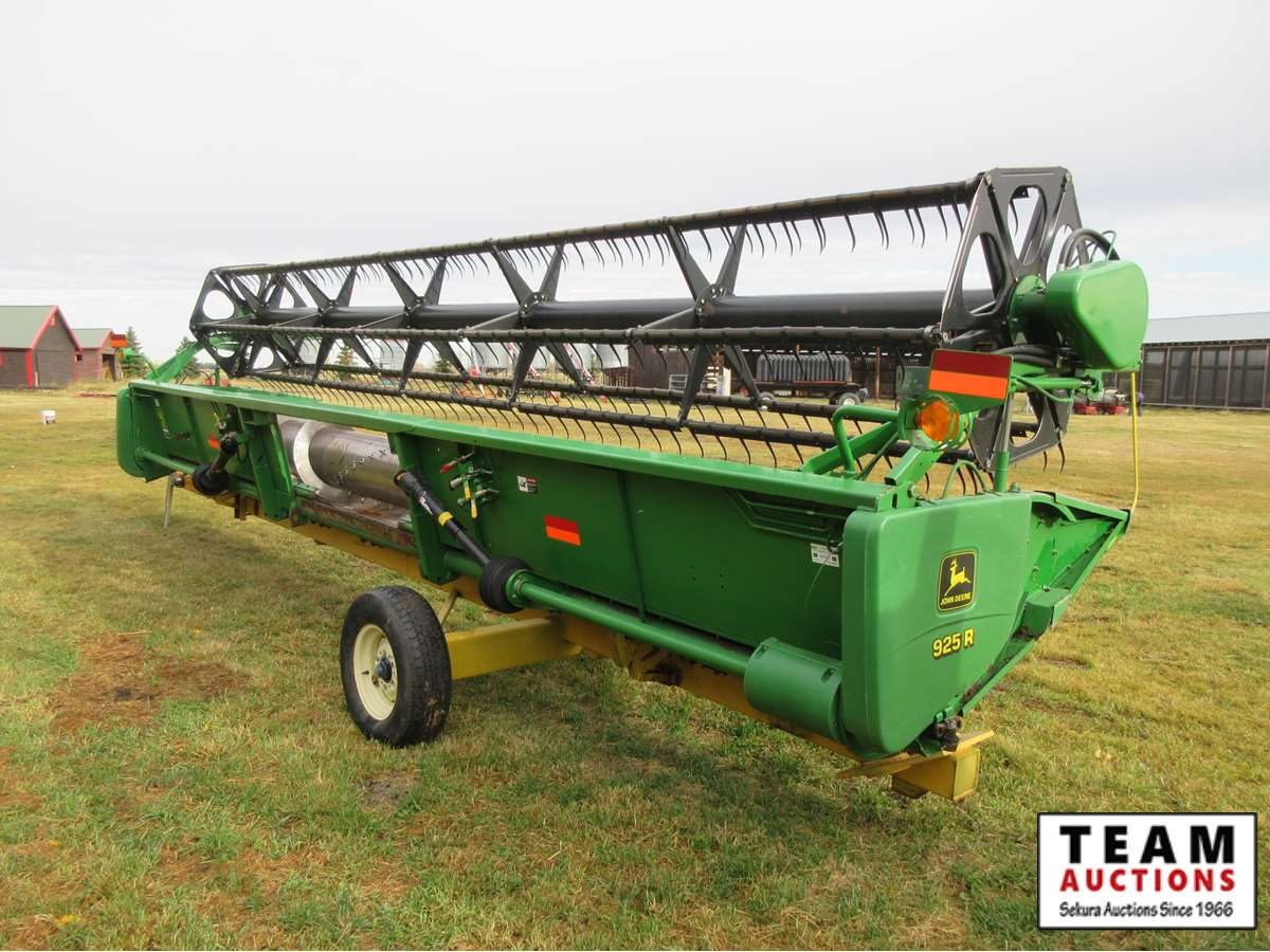 25 Ft Straight Cut Header & Mover