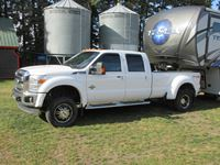 2011 Ford F450 Lariat Quad Cab Dually Pickup
