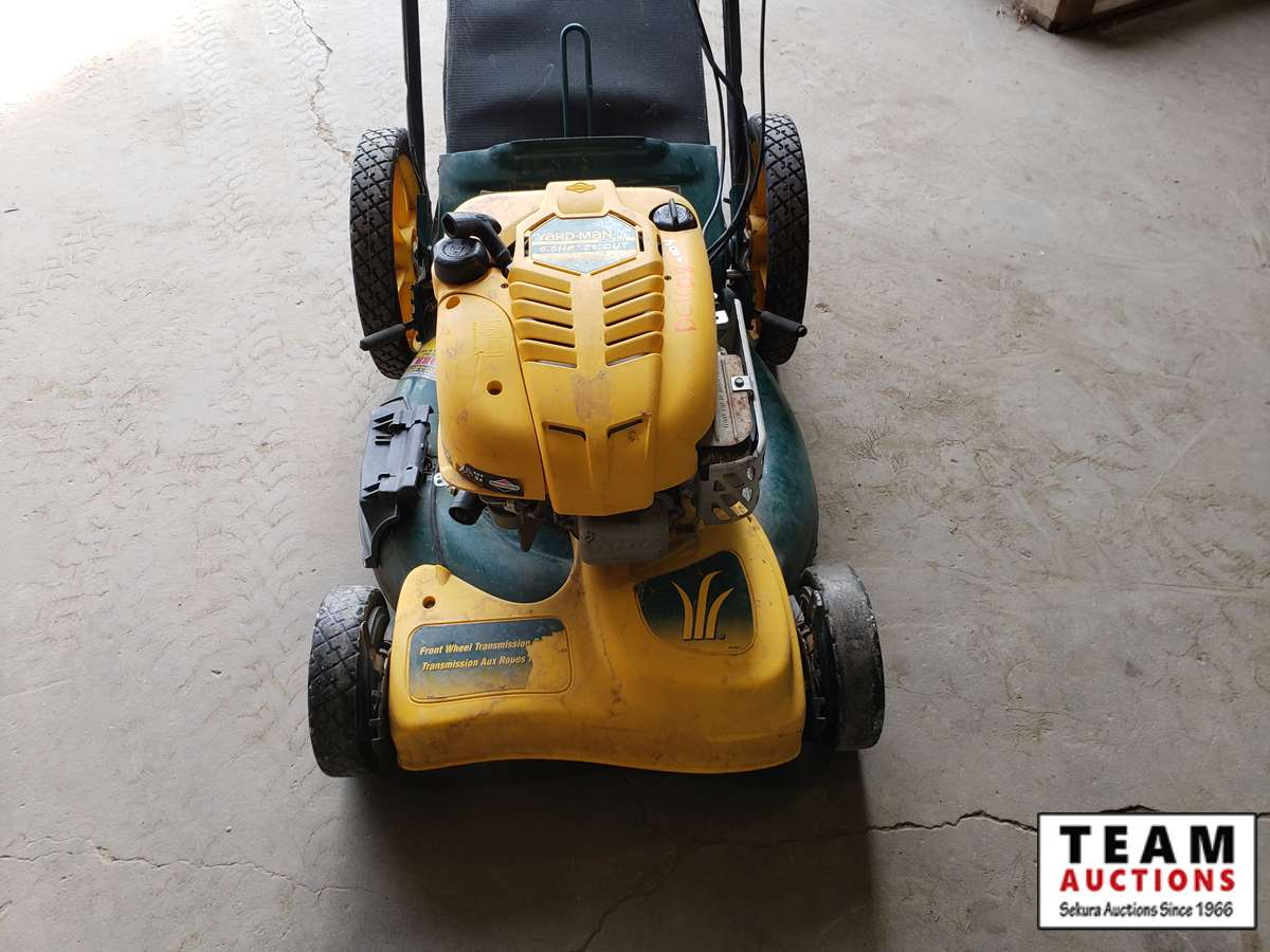 Yard-Man 6.5 HP 21 Cut Electric Start Mower - 21DC | Team