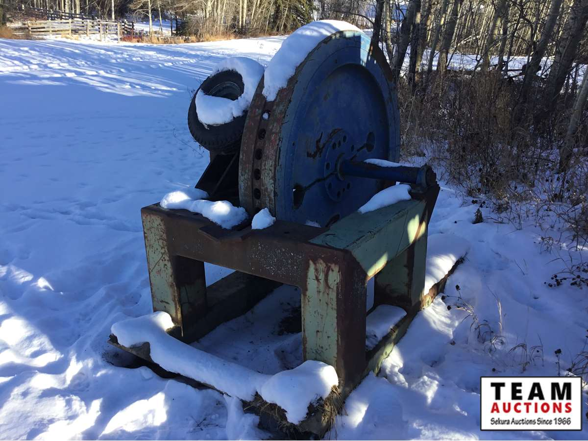 Shop Built Hydraulic Drive Log Splitter