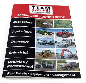 Team Auctions Spring 2018